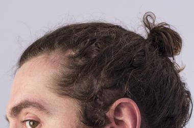 Man Bun, Hair