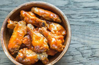 Buffalo Wings, Chicken Wings, Bowl