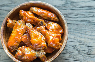 Buffalo Wings, Chicken Wings, Bowl