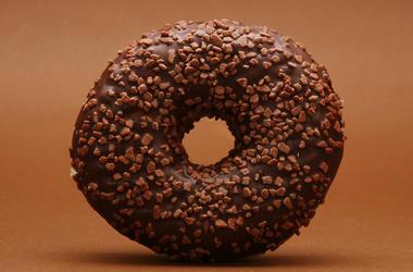Doughnut, Chocolate, Nuts