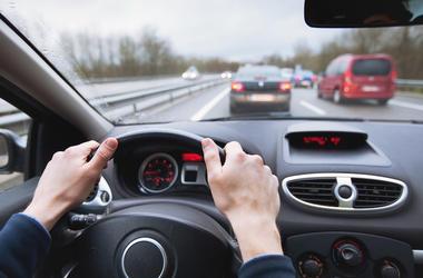 Car, Driving, Interior, Steering Wheel, Traffic, Highway