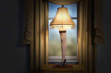 A Christmas Story, Leg Lamp