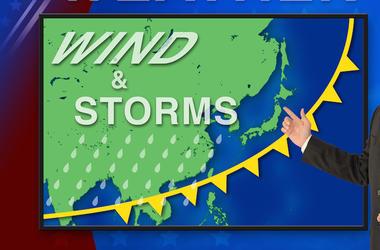 Weatherman, Weather, Map, Meteorologist