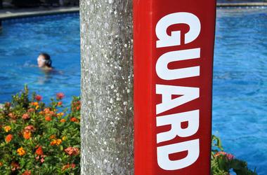 Swimming Pool, Lifeguard, Flotation Device