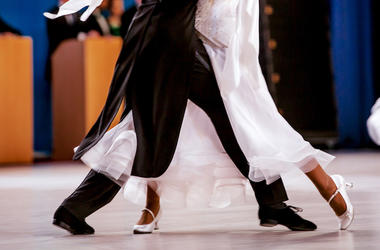 Ballroom, Dancing, Couple