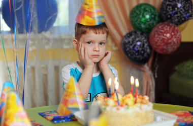 Sad Birthday Party