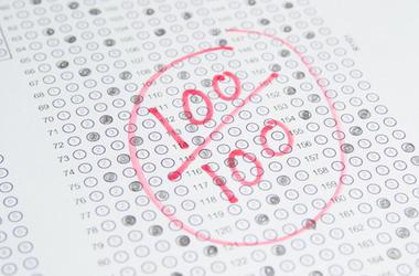 100% Test Score
