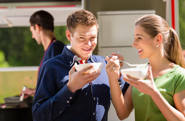 People Eating Soup