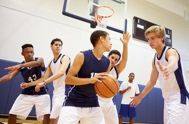 High School Baskatball Team