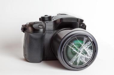 Damaged Camera