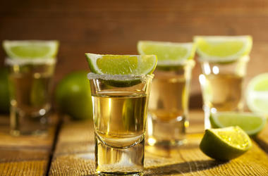 Tequila, Shots, Lime, Salt