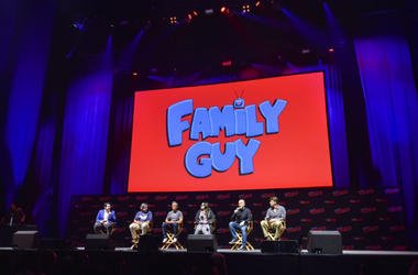 Writers of Family Guy & American Dad attend panel at New York Comic Con