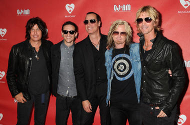 Duff McKagan from Guns N' Roses