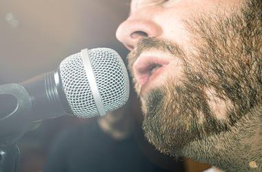 guy singing