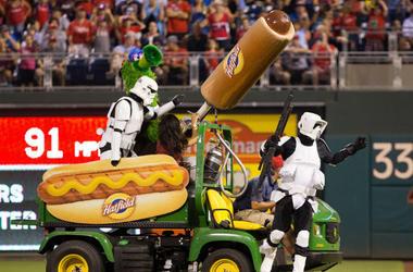 Hot Dog Launcher
