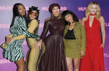 'Hustlers' Cast - Keke Palmer, Cardi B, Jennifer Lopez, Constance Wu, and Lili Reinhart