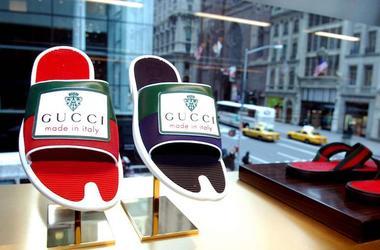 Gucci, Slides, Shoes, Store