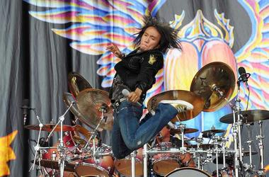 Arnel Pineda, Journey, Jumping, Concert, Download Festival, 2009