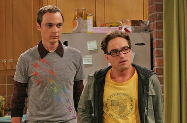 Jim Parsons, Johnny Galecki, Big Bang Theory