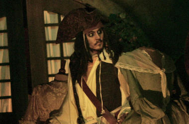 Johnny Depp, Animatronic, Jack Sparrow, Pirates Of The Caribbean, Ride