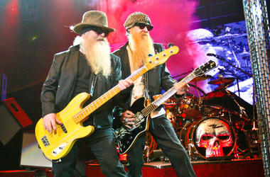ZZ Top, Dusty Hill, Billy Gibbons, Concert