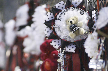Homecoming Mum, Bear, High School