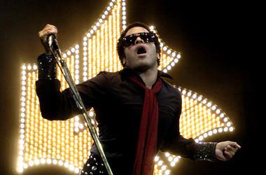 Lenny Kravitz, Concert, Singing, Microphone
