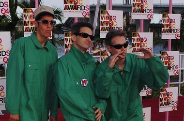 Beastie Boys, Red Carpet, MTV Video Music Awards, Mike D, AD-Rock, MCA, 2004