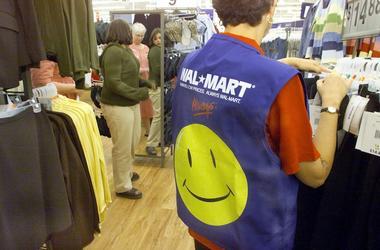 Walmart, Shopper, Employee, Vest, Clothing Rack, 2004