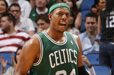 Paul Pierce, Boston Celtics, Green Uniform, 2012