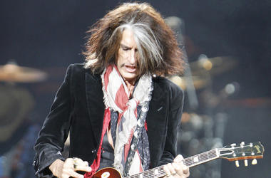 Joe Perry, Aerosmith, Concert, 2012