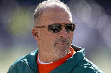 Tony Sparano, Sunglasses, Field
