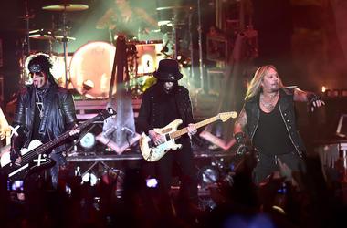 Motley Crue, Concert, Wembley Arena, London, 2015