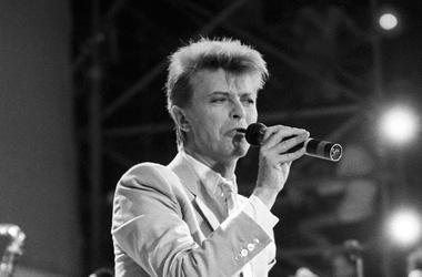 David Bowie, Concert, Singing, 1986
