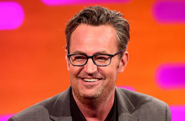 Matthew Perry, Talk Show, Smiling