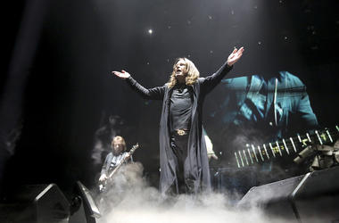 Ozzy Osbourne, Black Sabbath, Concert, Stage