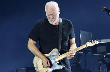 David Gilmour, Pink Floyd, Guitar, Solo, Concert, Madison Square Garden, 2016