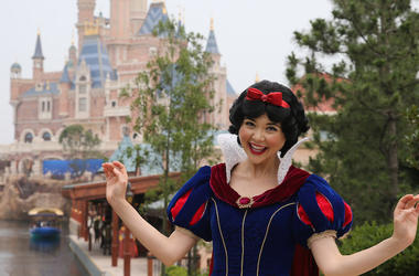 Snow White, Disneyland, Shanghai, 2016