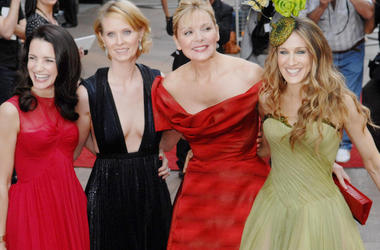 Kristin Davis, Cynthia Nixon, Kim Cattrall, Sarah Jessica Parker, Sex And The City, Movie, Premiere, Red Carpet, 2008