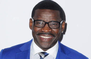 Michael Irvin, Gala, Red Carpet, Blue Suit, Smile, Beverly Hills, 2016