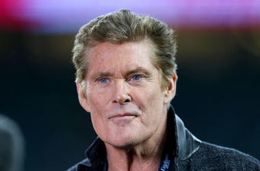 David Hasselhoff, Smirk, Smile, Red Carpet, 2017