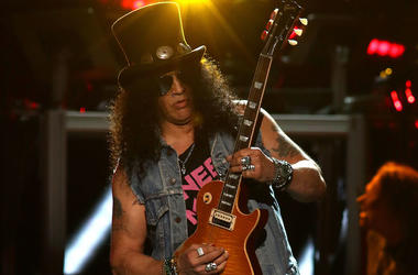 Slash, Guns N Roses, Concert, Live, Guitar, Madison Square Garden, 2017