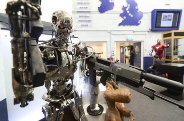 Terminator, Replica, Rifle, Movie