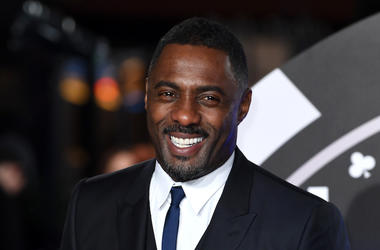 Idris Elba, Smile, Suit,