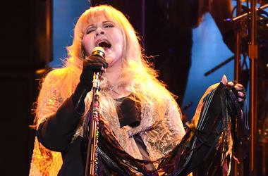 Stevie Nicks, Singing, Concert, Microphone