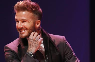 David Beckham, Smile, Suit