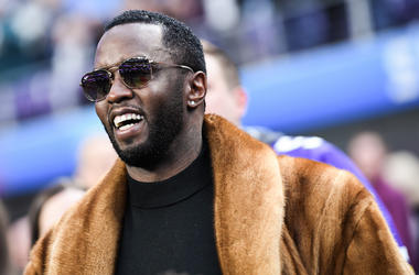 Sean Combs, Diddy, Super Bowl LII, Fur Coat, Smile, 2018