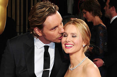 Dax Shepard, Kirsten Bell, Red Carpet, Whisper, Smile, 2014