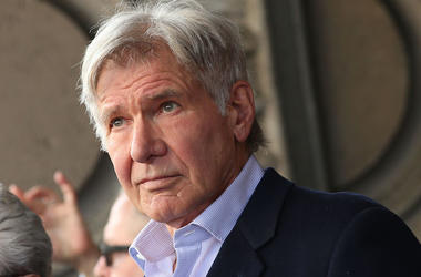 Harrison Ford, Suit, Hollywood Walk of Fame