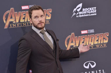 Chris Pratt, Red Carpet, Infinity War, Premiere, 2018